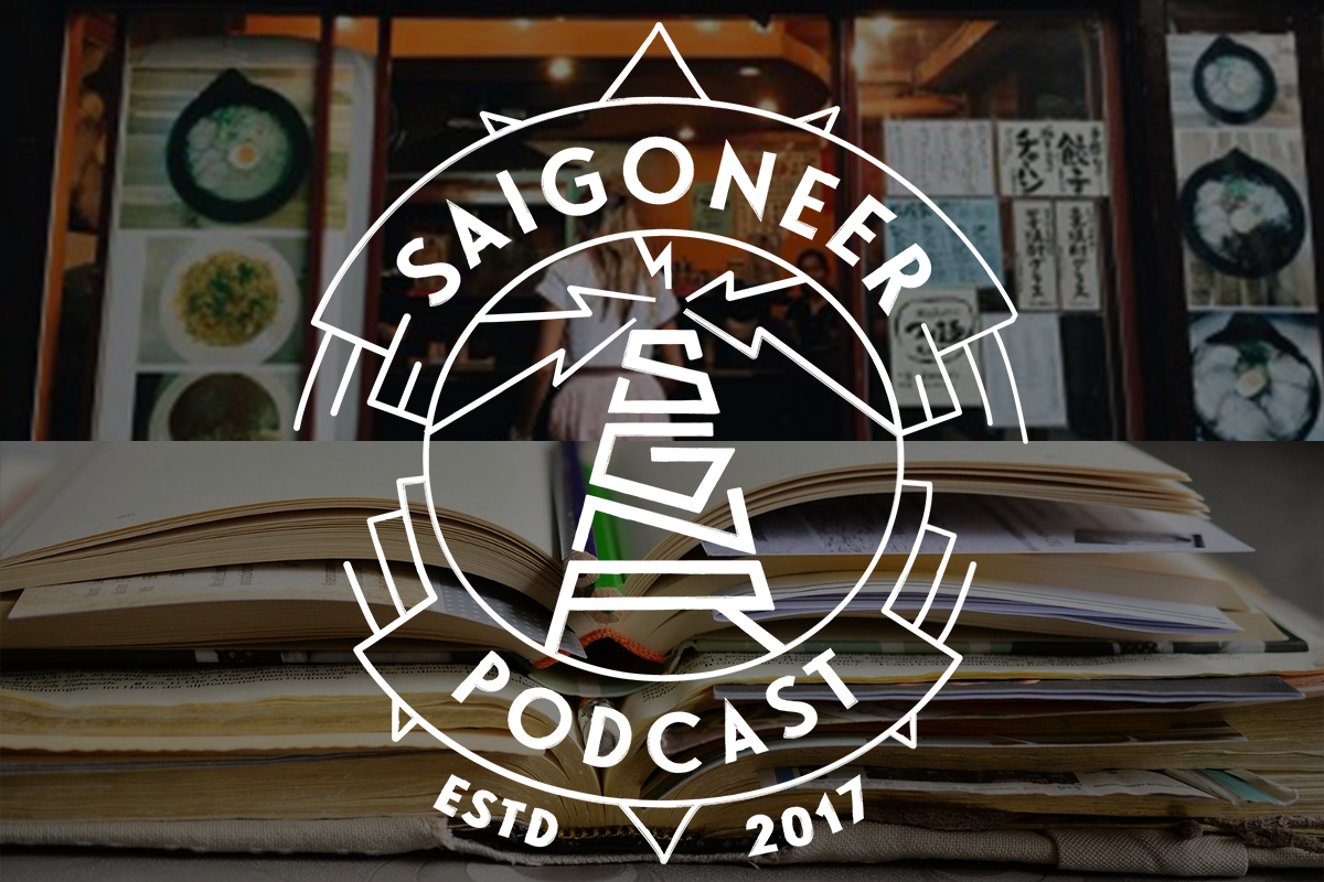 Saigoneer Podcast: Writing in a Second Language, Saigon's Japan Town and Artist Jacqueline Hoang Nguyen