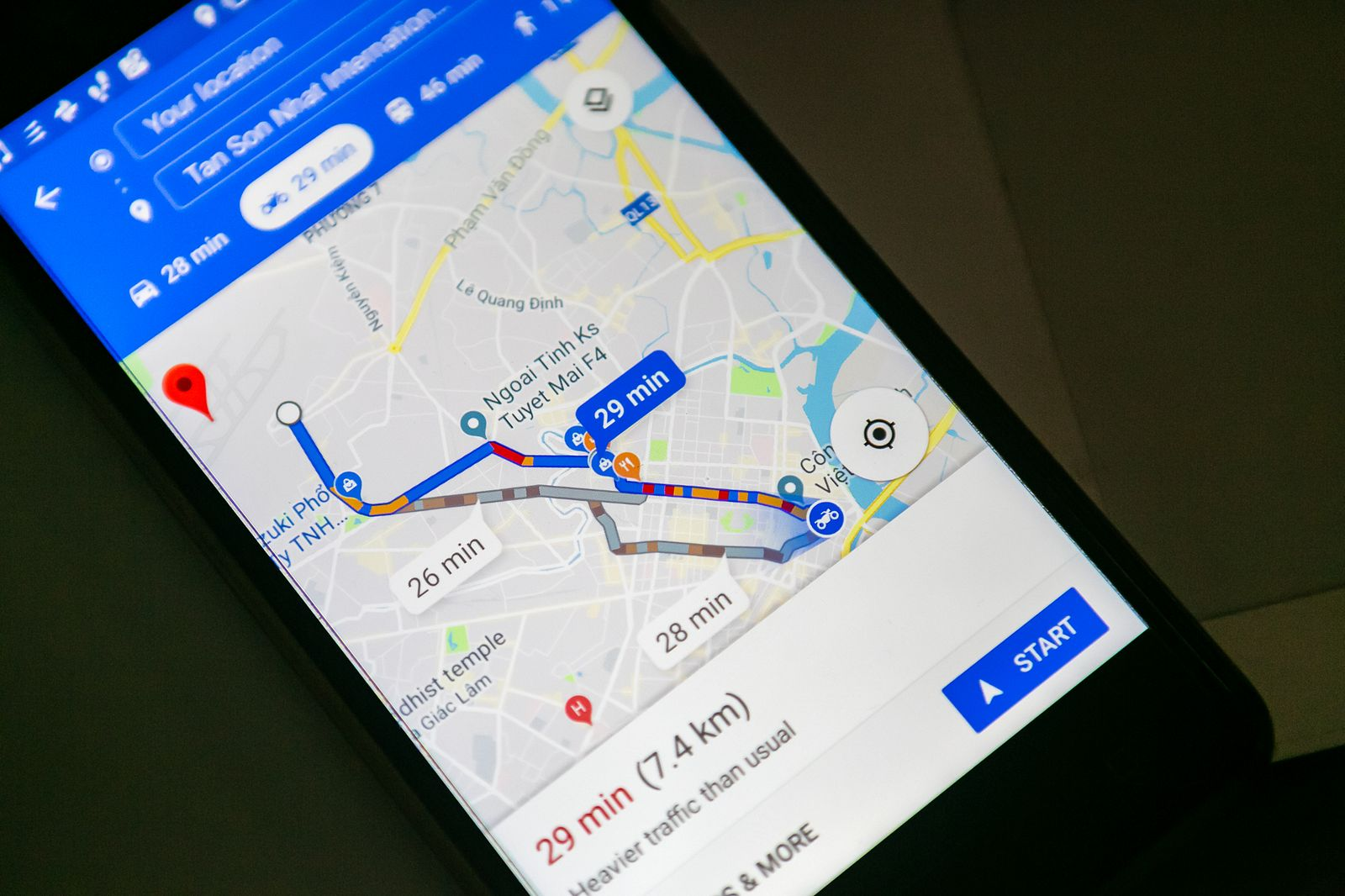 Google Maps Introduces Motorbike-Specific Navigation Mode in Vietnam ...