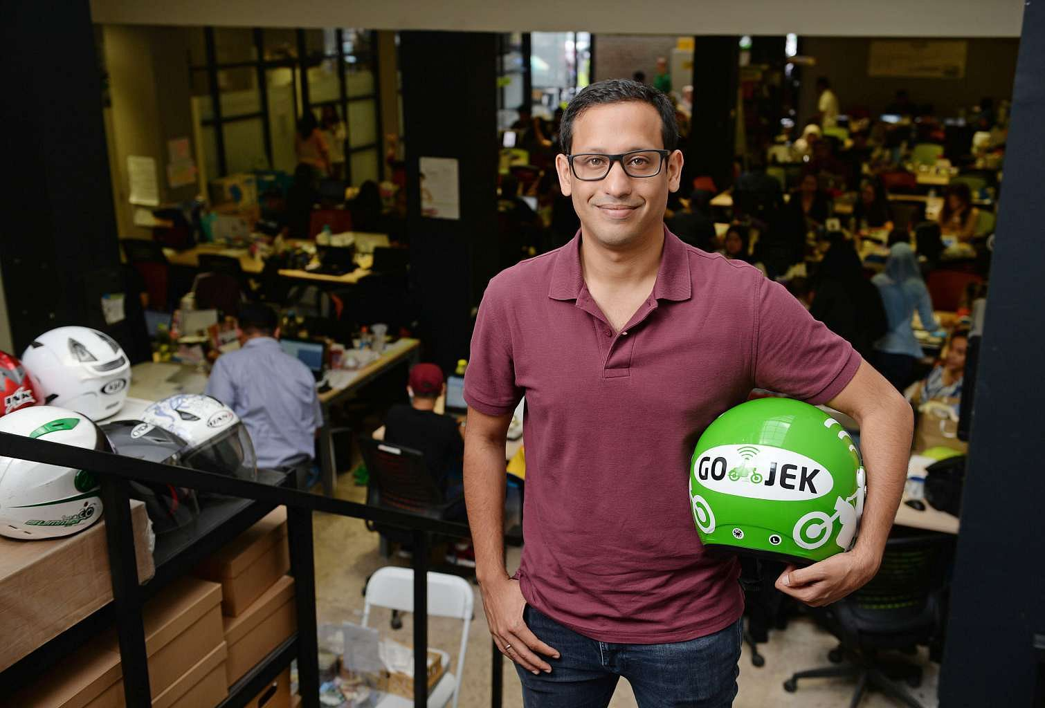 Go-Jek Founder and CEO Nadiem Makarim | Straits Times