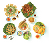 [Illustrations] A Series of Colorful Depictions of Quy Nhon's Charismatic Coastal Cuisine