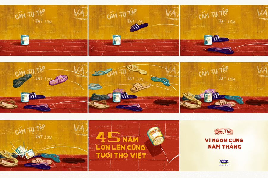 [Illustrations] An Ode to Sữa Ông Thọ and the Games of Our Saigon Childhood