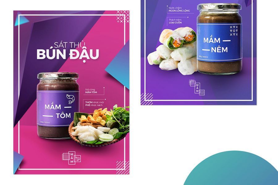 Local Designers Put the Fun in Funky With Mắm Rebranding Project