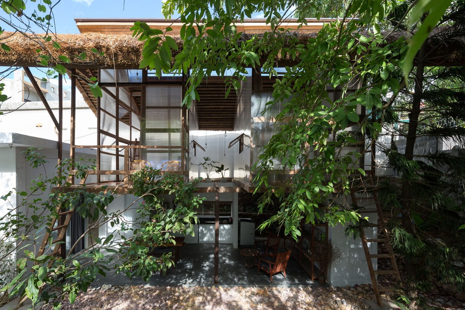 Photos In Hue A Minimalist Tree House For Adults Saigoneer