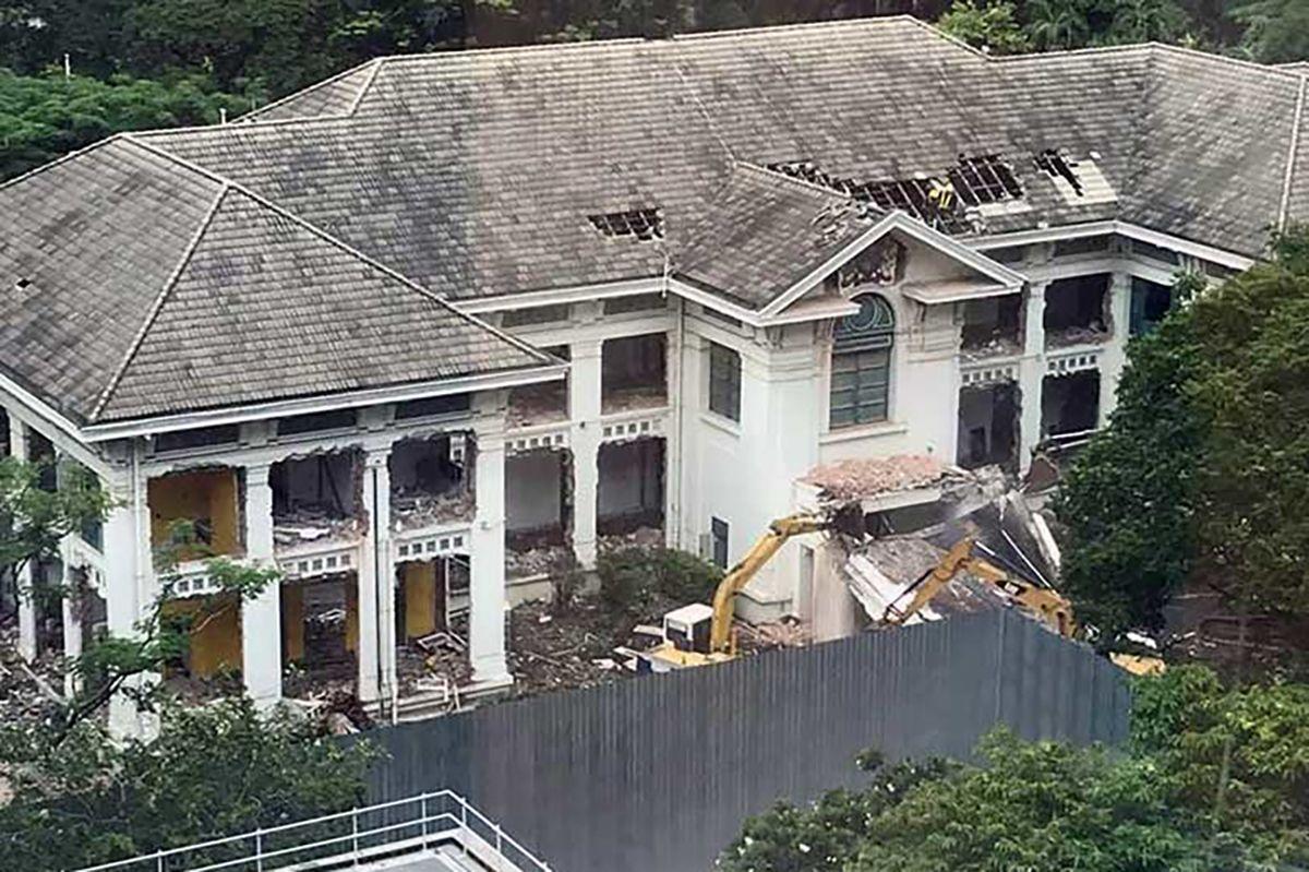 Historic British Embassy Building In Bangkok Demolished For Shopping Mall Saigoneer