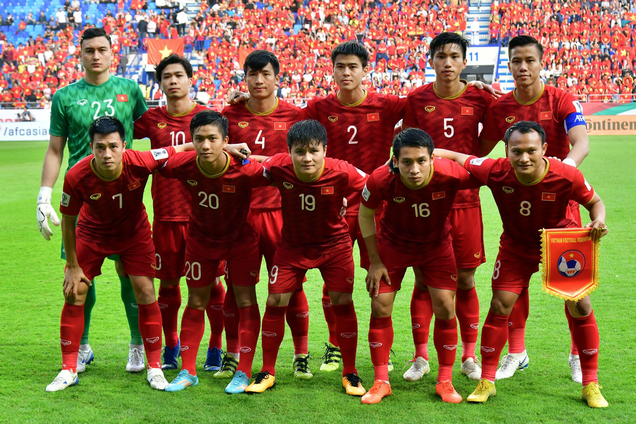 new concept 0187d 1870f Vietnam National Team Players Become Ambassadors for ...