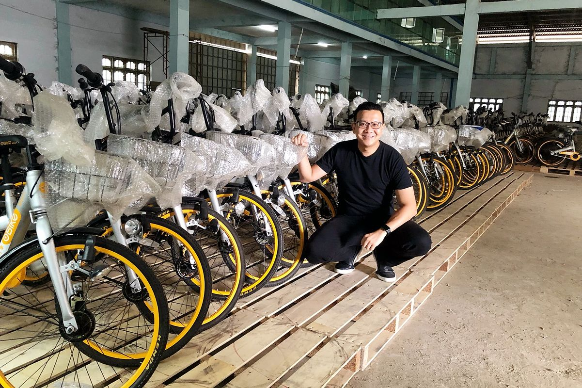 The Startup That's Bringing Abandoned Bikes to Burmese Children