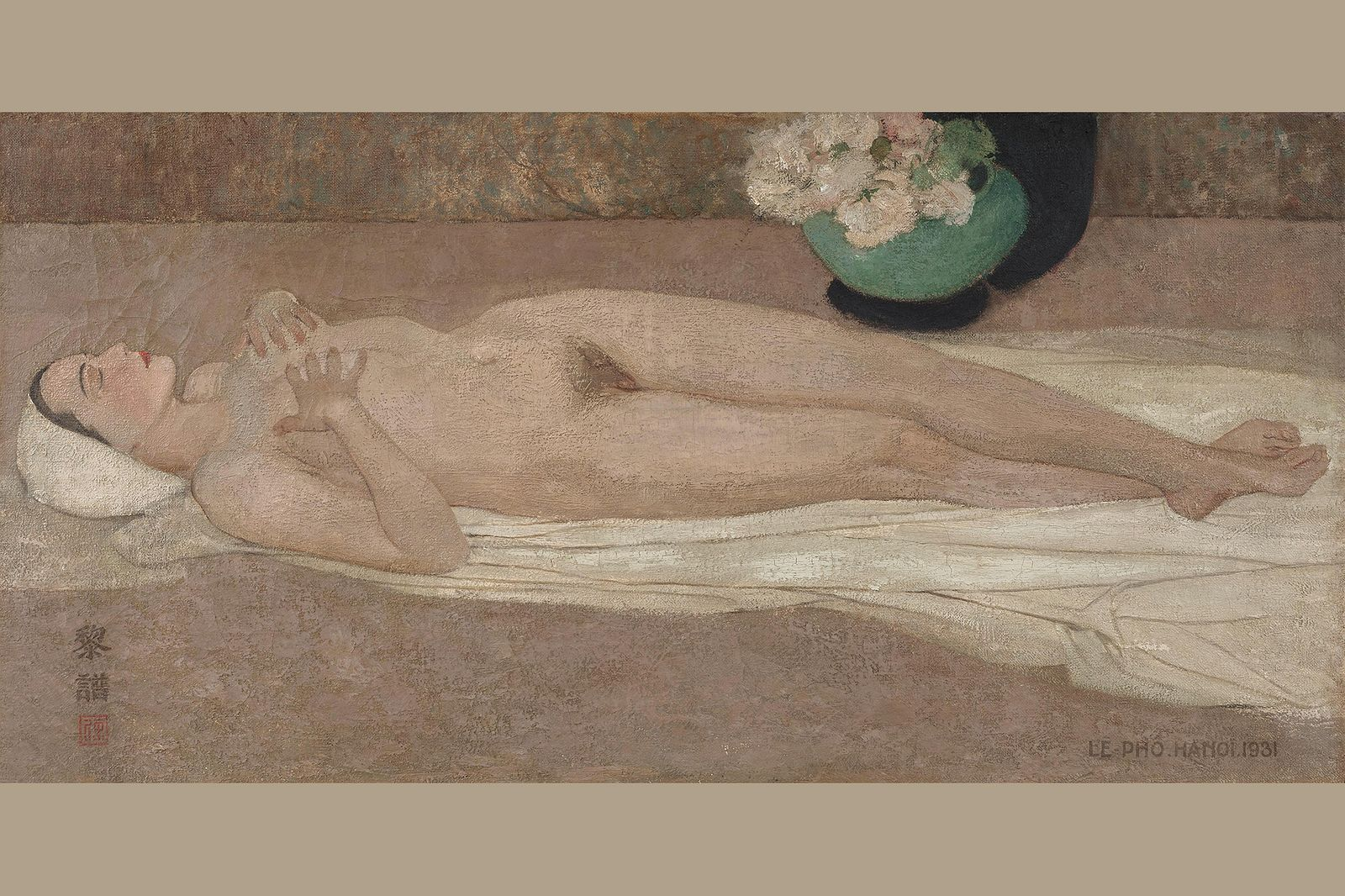 Le Pho Painting Sets Record for Most Expensive Vietnamese Art Sold