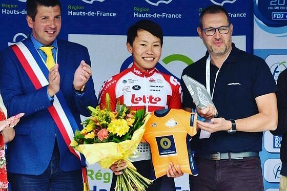 Vietnamese Cyclist Nguyen Thi That Wins 118km Race in France