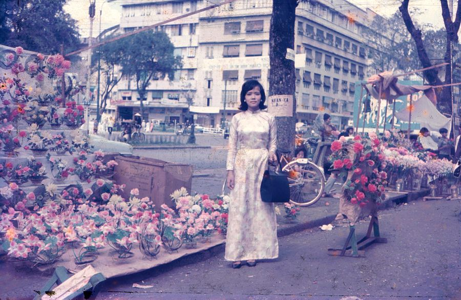 Image result for Manhhai's Flickr account. A Stroll Along Saigon's Tet Flower Streets in the 1960s