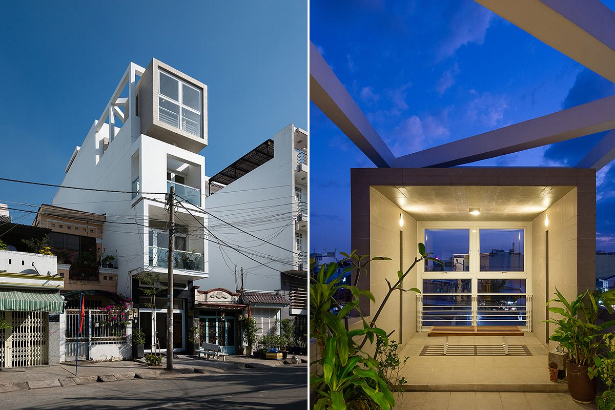 Photos] Saigon\'s D7 House: Where Natural Elements and Contemporary ...