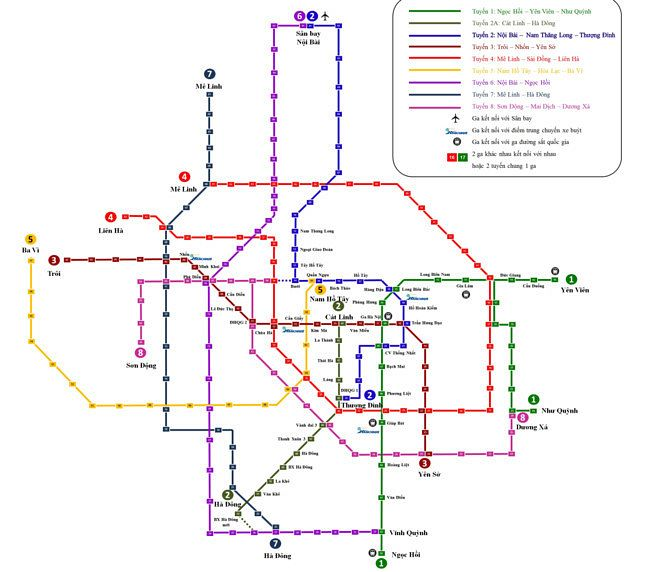 Map Ha Noi.Hanoi Metro Officials Apologize For Using Student Made Terminal Map