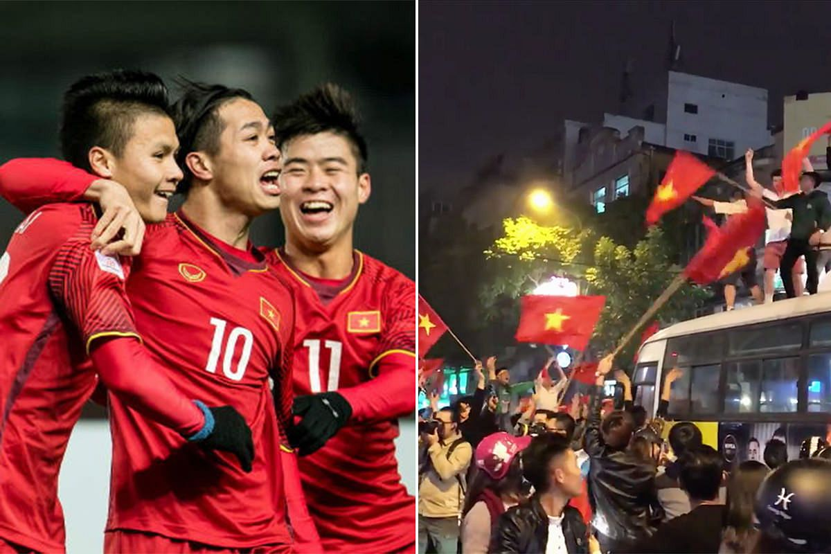 wholesale dealer 59b68 abe75 Vietnam National Team Stuns Iraq in U-23 Asian Tournament to ...