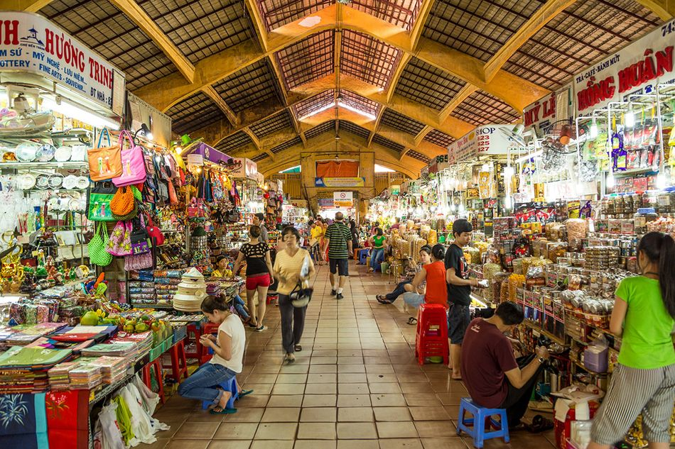 Image result for ben thanh market