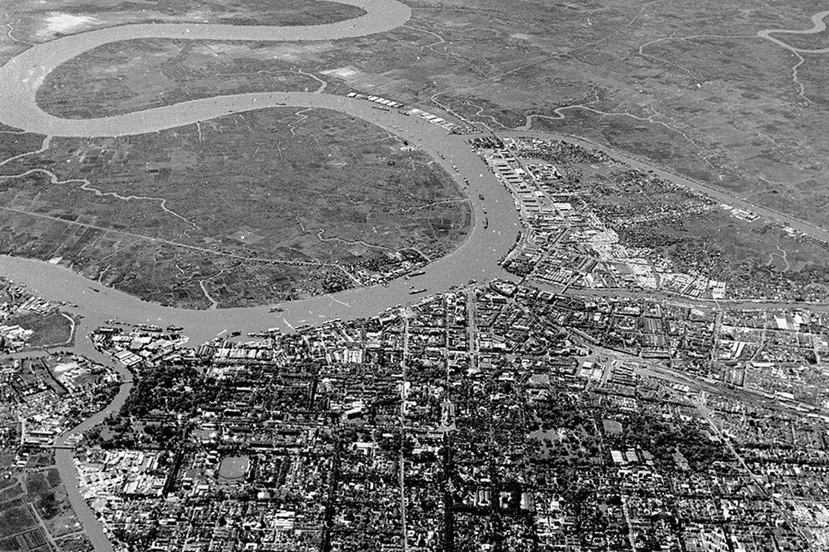 Photos] Saigon's 1955 Cityscapes From Above - Saigoneer