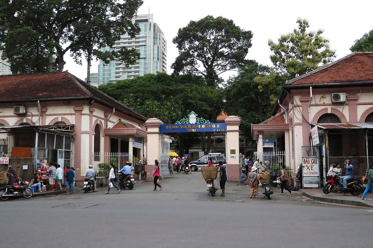 Old Saigon Building of the Week: The Former Grall Hospital