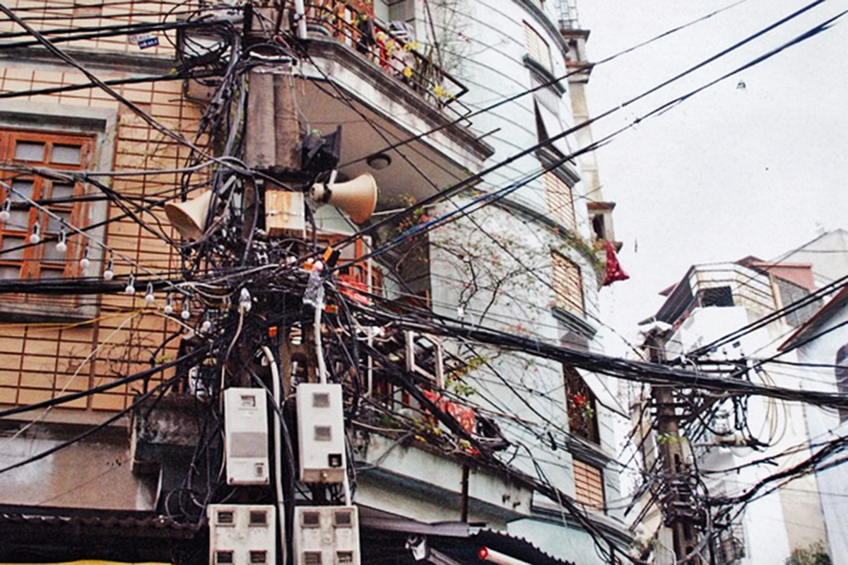 Hanoi\'s Electrical Wiring Recognized Among World\'s Worst by ...