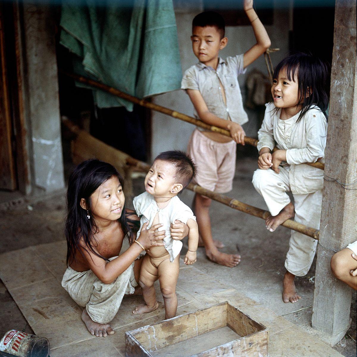 [Photos] The Children of 1967 Vietnam - Saigoneer