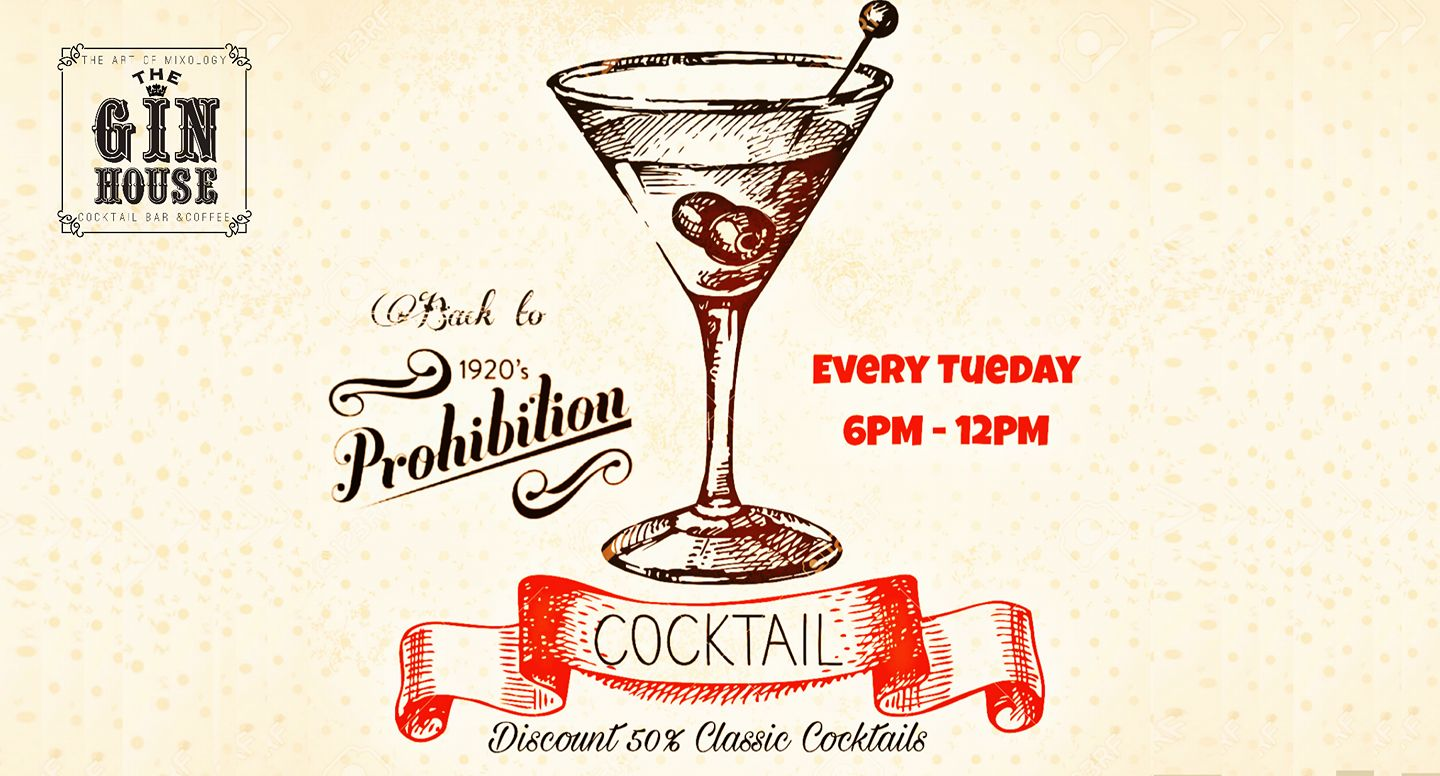 Back to Prohibition @ The Gin House   Saigoneer
