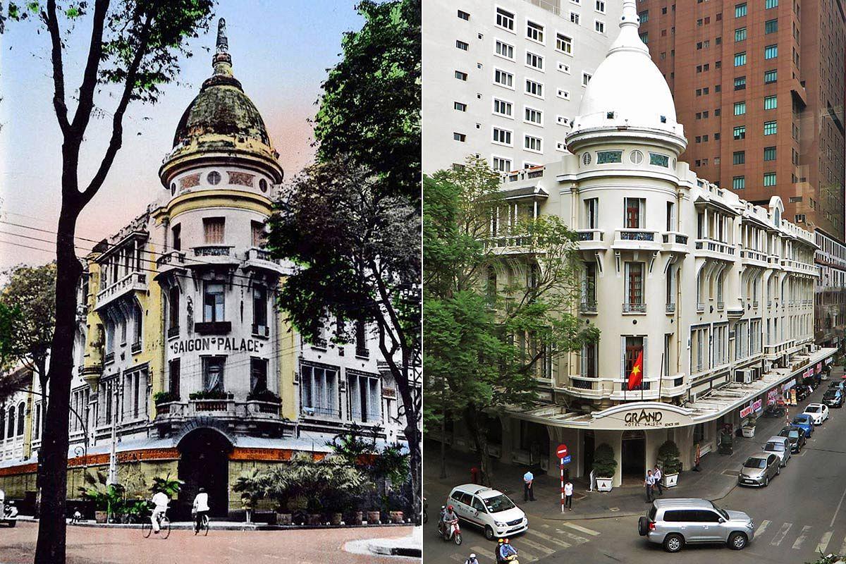 Old Saigon Building Of The Week The Grand Hotel Saigoneer