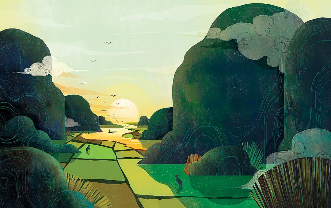 Illustrations] Young Illustrator Breathes New Life Into Work of