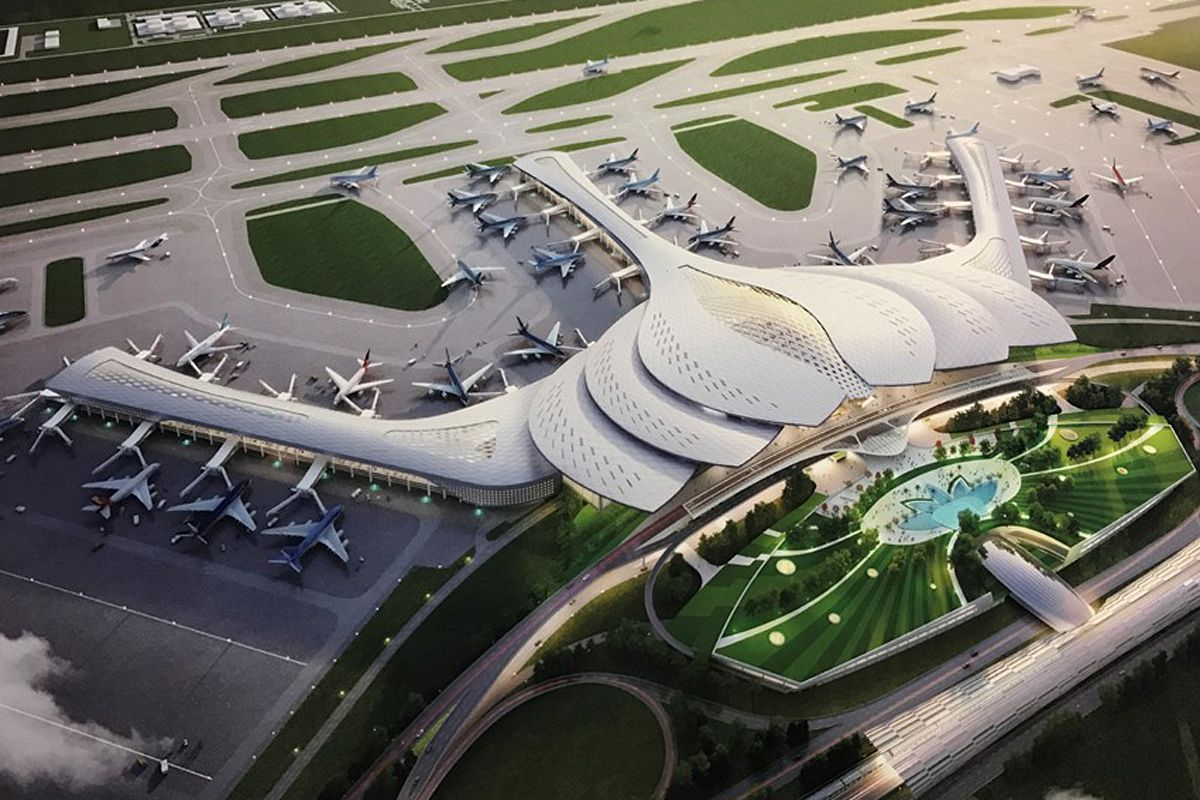 Vietnamese Firm Suggests Chinese Power Plant Contractor To Take On Construction Of Long Thanh Airport Saigoneer