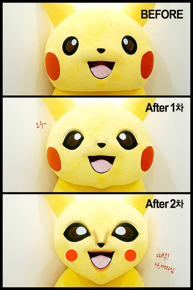Korean Plastic Surgery Clinic Gives Pikachu a Facelift, Creates