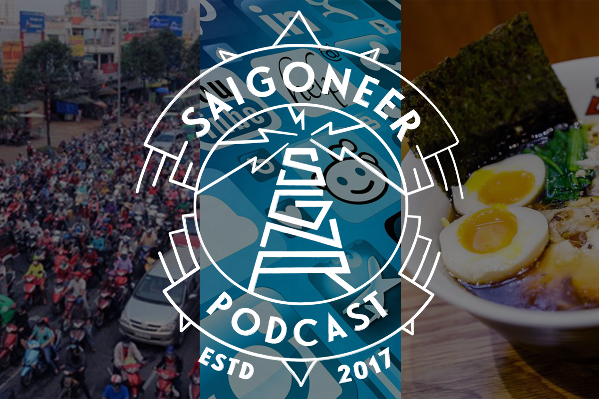 Saigoneer Podcast: Transportation in Saigon, Women in Tech and a Singaporean Foodie