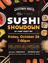 Sushi Showdown @ Gastown 1960's