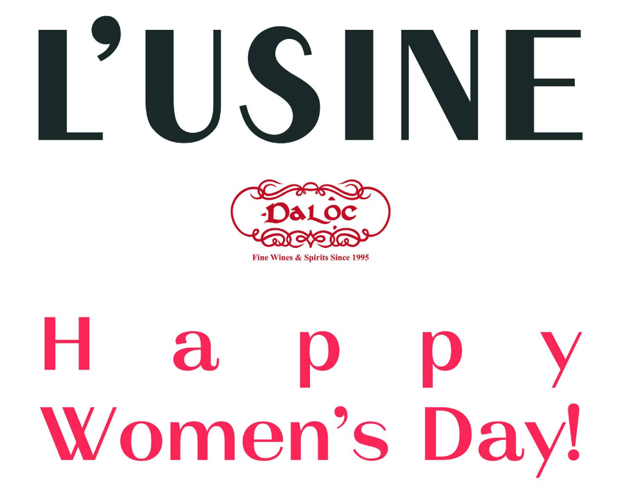 Happy Women's Day @ L'Usine