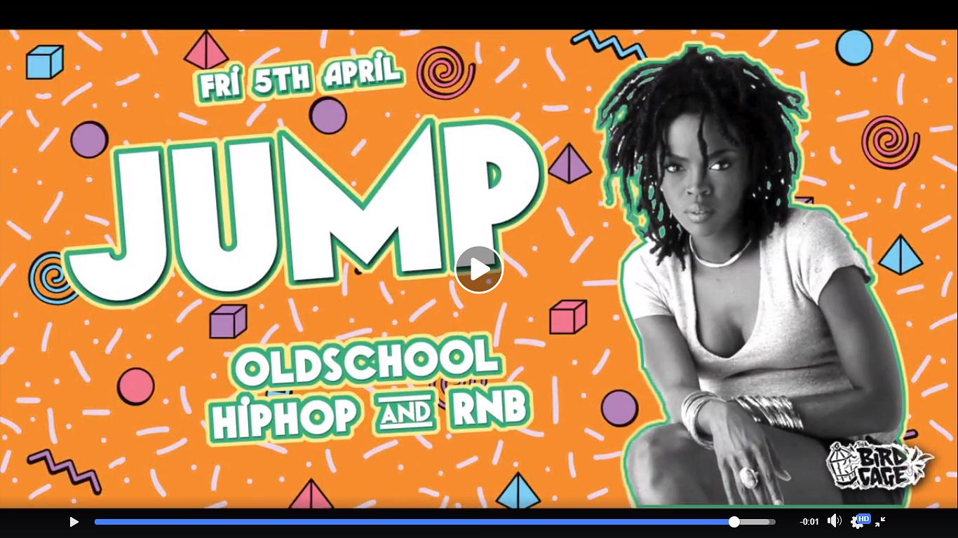 JUMP / / Oldschool Hiphop & RnB @ BirdCage - Urbanist Hanoi