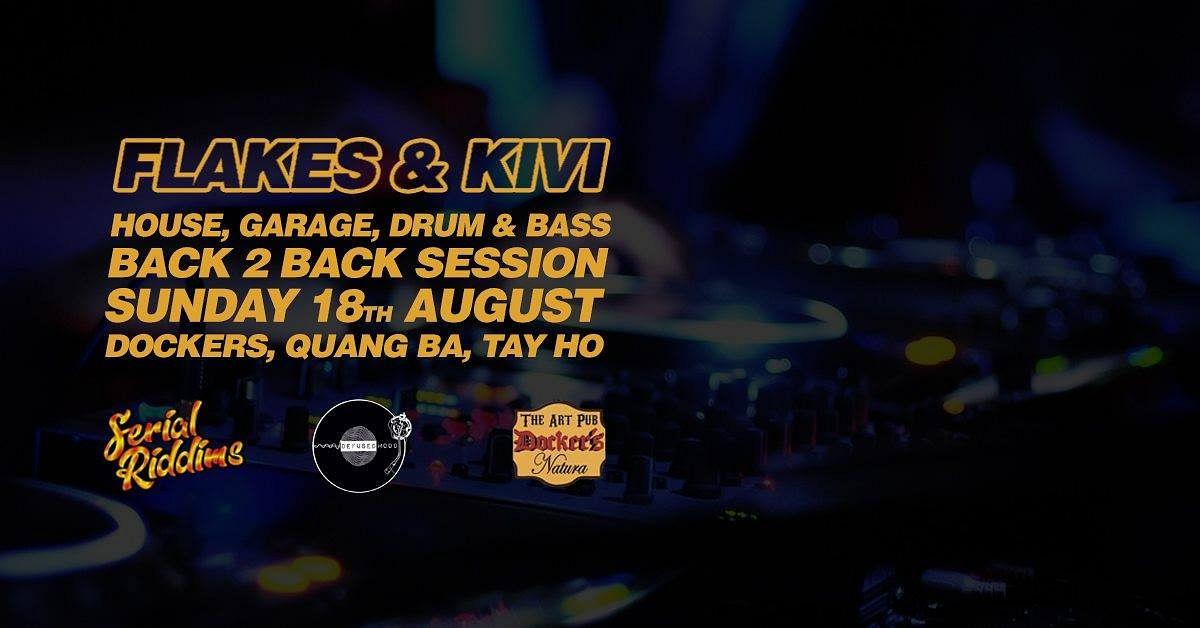 Sunday Sessions // Flakes B2B Kivi // DnB // Bassline