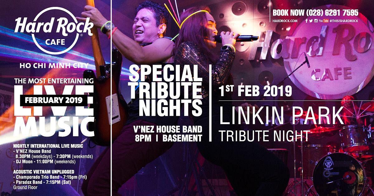 Linkin Park Tribute Night @ Hard Rock Cafe - Saigoneer