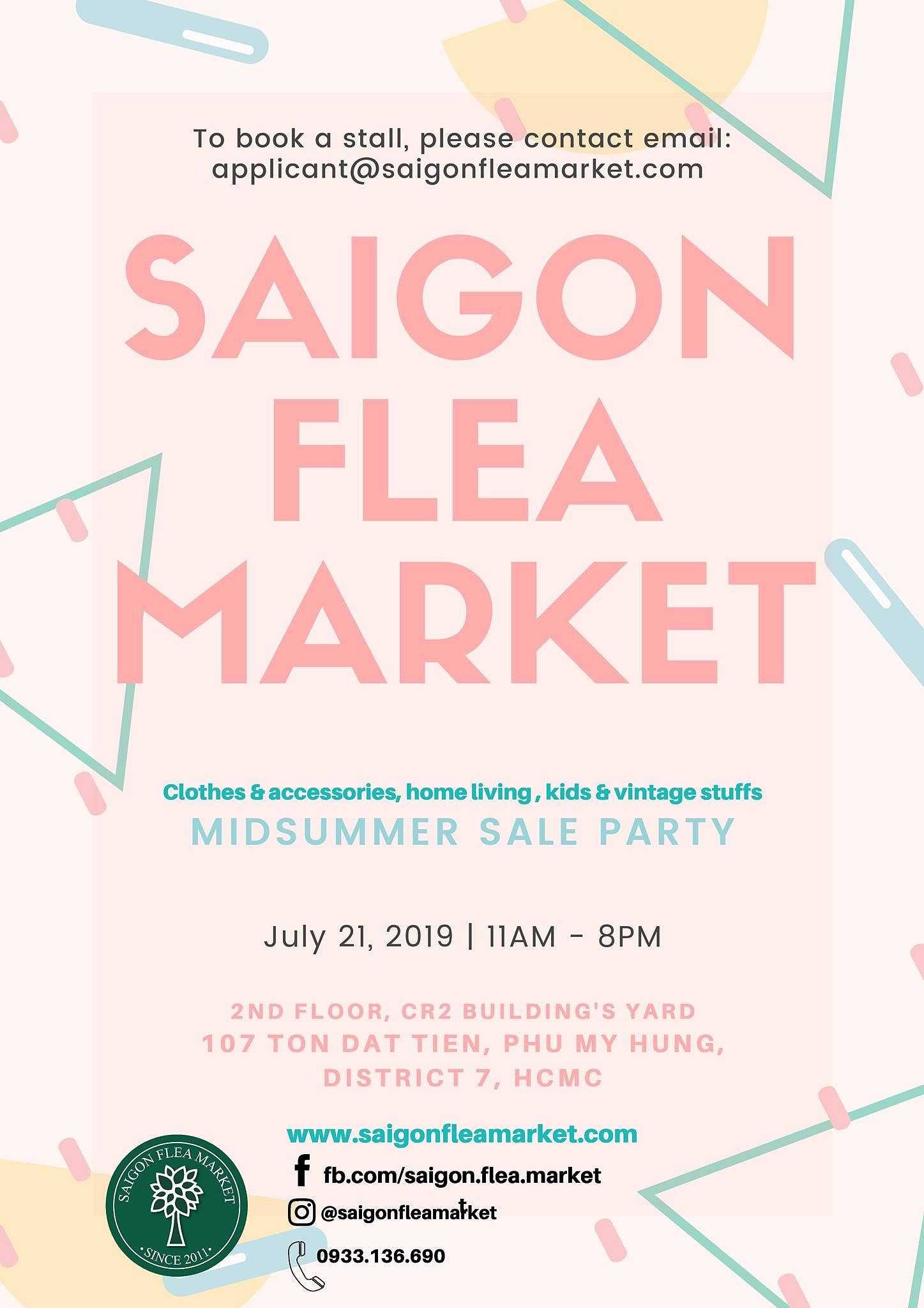 Monthly Lifestyle Market @ Saigon Flea Market - Saigoneer