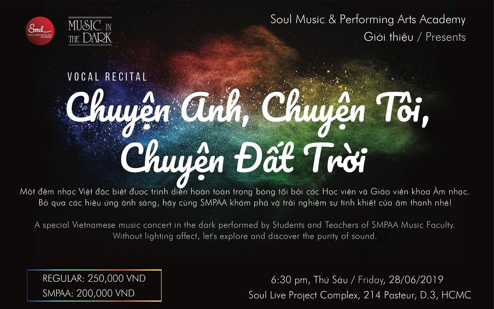 Music in the Dark @ Soul Live Project Complex - Saigoneer