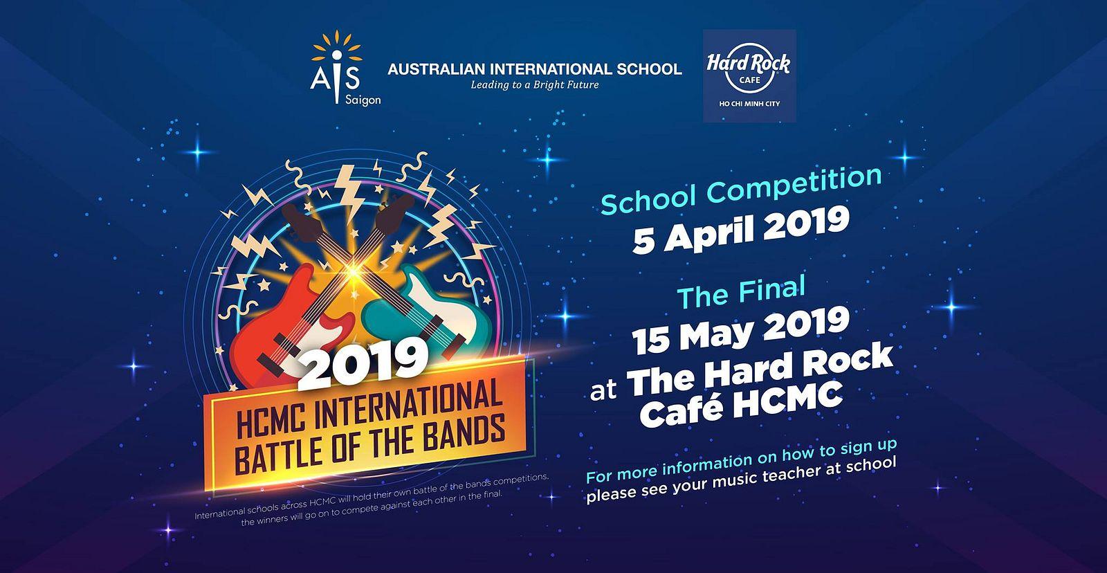 HCMC International Battle of the Bands 2019 @ Hard Rock Cafe - Saigoneer