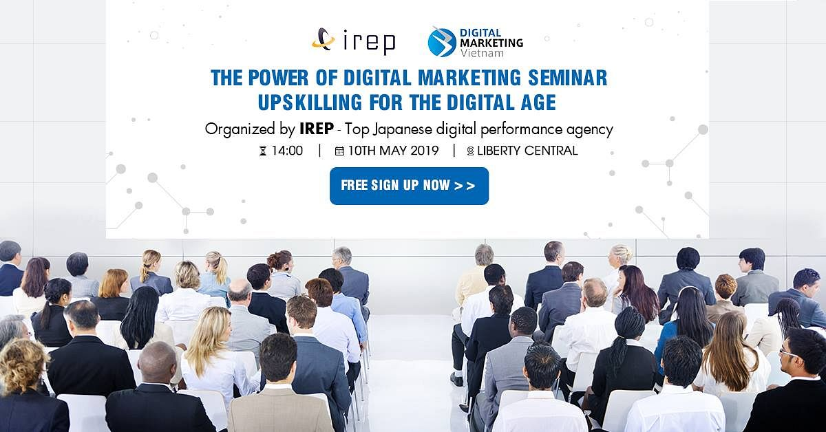 The POWER of Digital Marketing @ Liberty Central Saigon