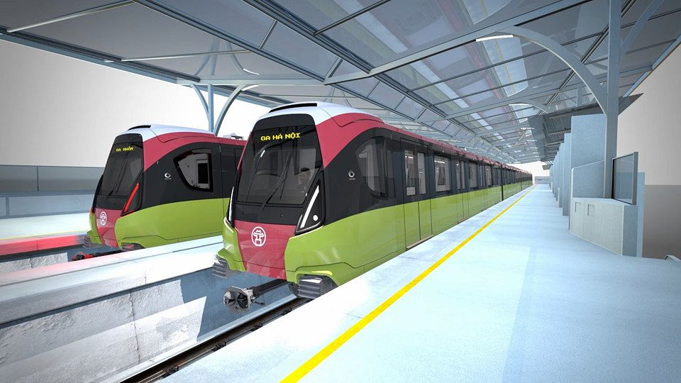 Hanoi Reveals Train Designs For Metro Line 3, Seeks Public