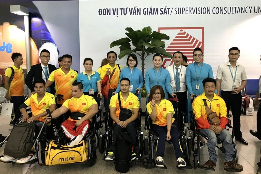 Vietnam Wins 40 Medals, Including 8 Golds, at 2018 Asian Para Games